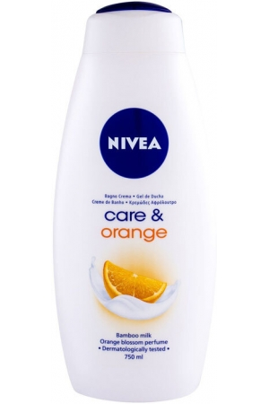 Nivea Care & Orange Shower Gel 750ml