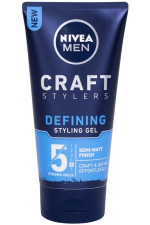 Nivea Men Craft Stylers Defining Semi-Matt Hair Gel 150ml (Strong Fixation)