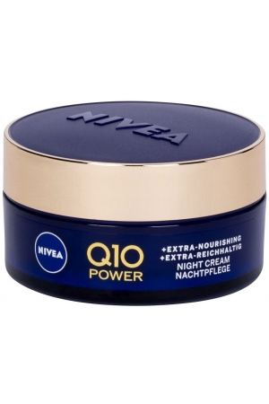 Nivea Q10 Power Anti-Wrinkle + Extra Nourishing Night Skin Cream 50ml (Wrinkles)