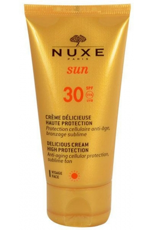 Nuxe Sun Delicious Cream SPF30 Face Sun Care 50ml (Waterproof)