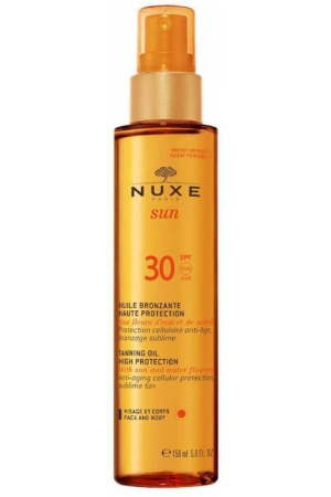 Nuxe Sun Tanning Oil SPF30 Sun Body Lotion 150ml (Waterproof)