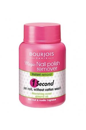 Bourjois Paris 1 Second Nail Polish Remover 75ml
