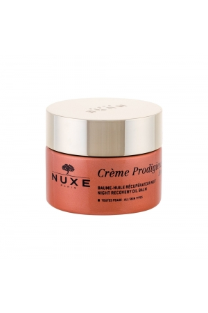 Nuxe Creme Prodigieuse Boost Night Recovery Oil Balm Night Skin Cream 50ml (First Wrinkles - All Skin Types)