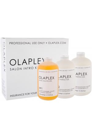 Olaplex Bond Multiplier No. 1 Salon Intro Kit Hair Serum 525ml Combo: Bond Multiplier No. 1 525 Ml + Bond Perfector No. 2 2 X 525 Ml + Dosing Dispenser