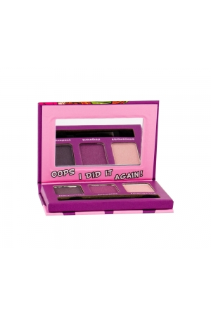 Misslyn Eye-mazing Eyeshadow Set - Paletka Tri Ocnich Stinu 2,1 G Ruzovo-fialovo-sede