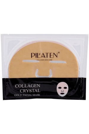 Pilaten Collagen Crystal Gold Facial Mask Face Mask 60gr (For All Ages)