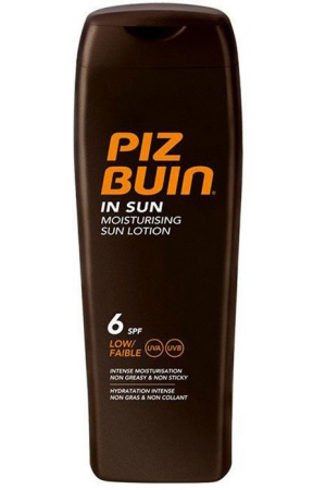 Piz Buin Moisturising SPF6 Sun Body Lotion 200ml
