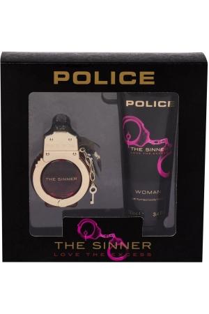 Police The Sinner Eau de Toilette 30ml Combo: Edt 30 Ml + Body Lotion 100 Ml