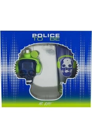 Police To Be Mr Beat Eau de Toilette 40ml Combo: Edt 40 Ml + Shower Gel 100 Ml