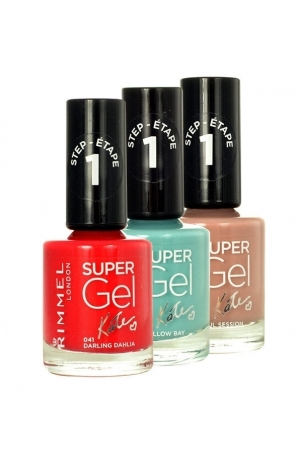 Rimmel London Super Gel By Kate Step1 Nail Polish 12ml 021 New Romantic