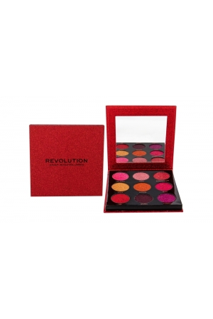 Makeup Revolution London Pressed Glitter Eye Shadow 10,8gr Hot Pursuit