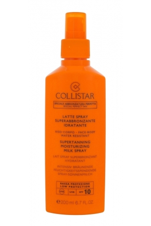 Collistar Special Perfect Tan Supertanning Moisturizing Milk Spray Sun Body Lotion 200ml Spf10