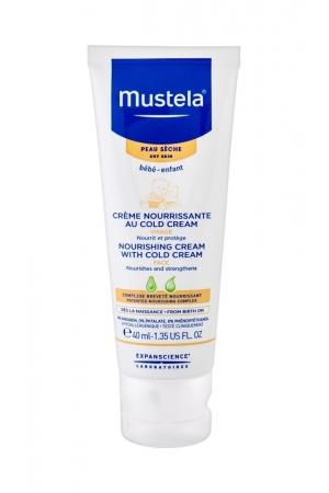 Mustela Bebe Nourishing Cream With Cold Cream Day Cream 40ml (Dry)