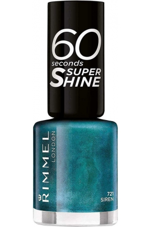 Rimmel London 60 Seconds Super Shine Nail Polish 721 Siren 8ml