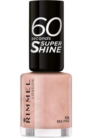 Rimmel London 60 Seconds Super Shine Nail Polish 724 Sea Fizz 8ml