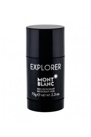 Montblanc Explorer Deodorant 75ml Aluminum Free - Alcohol Free (Deostick)