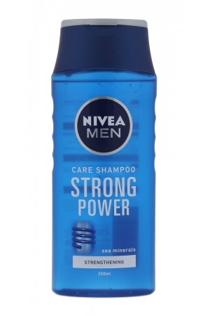 Nivea Men Strong Power Shampoo 250ml (Normal Hair)