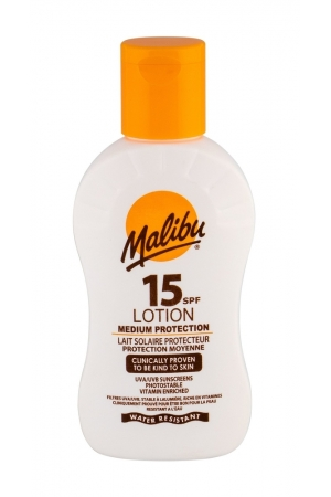 Malibu Lotion Spf15 Sun Body Lotion 100ml Waterproof