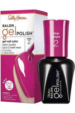 Sally Hansen Salon Gel Polish Step 2 Nail Polish 210 Back To The Fuchsia 7ml