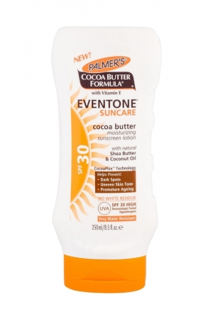 Palmer/s Eventone Suncare Cocoa Butter Sun Body Lotion 250ml Waterproof Spf30