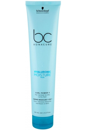 Schwarzkopf BC Bonacure Hyaluronic Moisture Kick Curl Power 5 Hair Mask 125ml (Curly Hair - Normal Hair - Dry Hair)