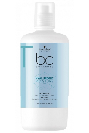 Schwarzkopf BC Bonacure Hyaluronic Moisture Kick Hair Mask 750ml (Normal Hair - Dry Hair)