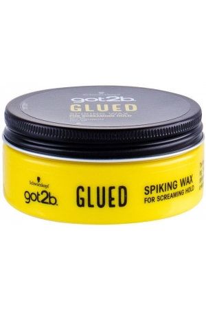 Schwarzkopf Got2b Glued Spiking Wax Hair Wax 75ml (Extra Strong Fixation)