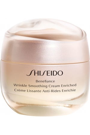 Shiseido Benefiance Wrinkle Smoothing Cream Enriched Day Cream 50ml (First Wrinkles - Wrinkles - Mature Skin)
