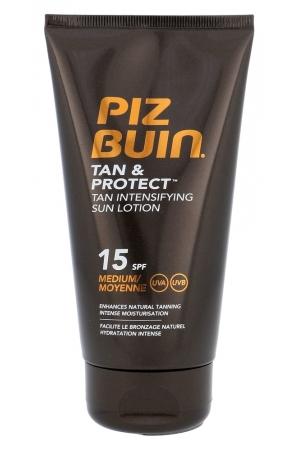 Piz Buin Tan & Protect Tan Intensifying Sun Lotion Sun Body Lotion 150ml Spf15