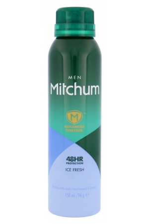 Mitchum Advanced Control Ice Fresh Antiperspirant 150ml Alcohol Free 48hr (Deo Spray)