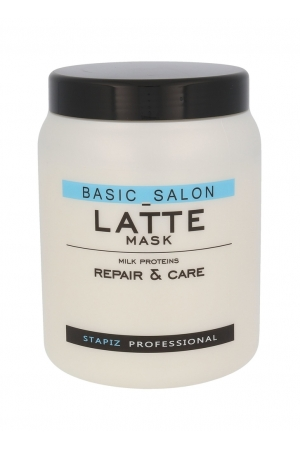 Stapiz Basic Salon Latte Hair Mask 1000ml (All Hair Types)