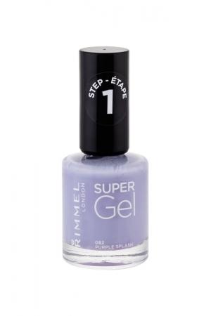 Rimmel London Super Gel Step1 Nail Polish 12ml 082 Purple Splash