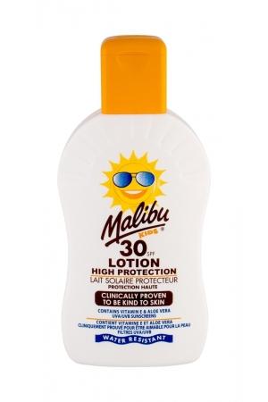 Malibu Kids Lotion Sun Body Lotion 200ml Waterproof Spf30