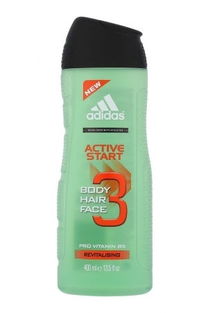Adidas Active Start 3in1 Shower Gel 400ml