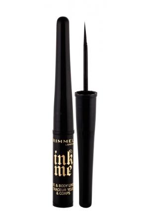 Rimmel London Ink Me Eye Line 3,5ml Waterproof 001 Black (Liquid)