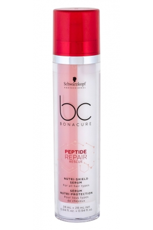 Schwarzkopf Bc Bonacure Peptide Repair Rescue Nutri-shield Serum Hair Oils And Serum 56ml (Damaged Hair)