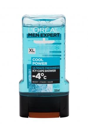 L/oreal Paris Men Expert Cool Power Shower Gel 300ml -4°c