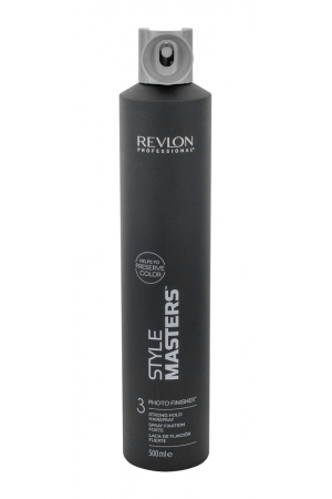Revlon Professional Style Masters Photo Finisher 3 Hair Spray 500ml (Strong Fixation)