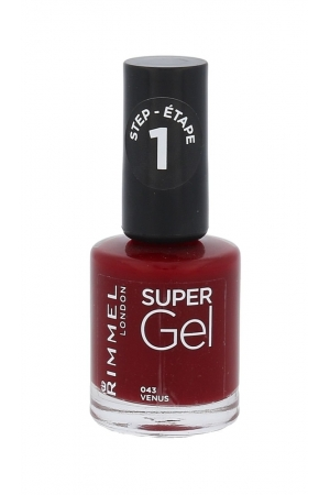 Rimmel London Super Gel Step1 Nail Polish 12ml 043 Venus