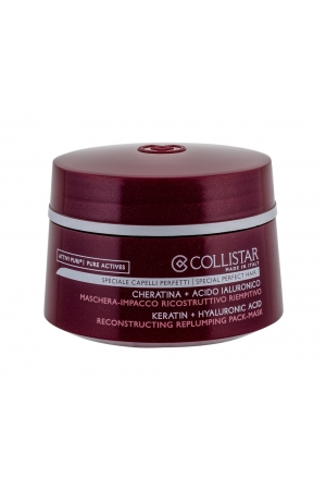 Collistar Pure Actives Reconstructing Replumping Hair Mask 200ml (Weak Hair - Damaged Hair)