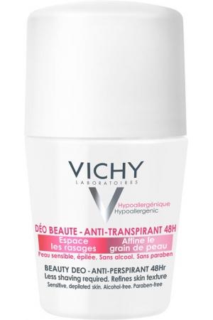 Vichy Deodorant 48h Beauty Antiperspirant 50ml (Roll-On - Alcohol Free)