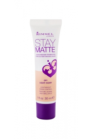 RIMMEL Stay Matte podklad matujacy 091 Light Ivory 30ml