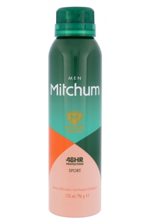 Mitchum Advanced Control Sport Antiperspirant 150ml Alcohol Free 48hr