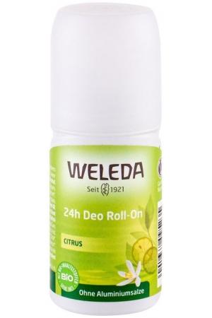 Weleda Citrus 24h Roll-On Deodorant 50ml (Roll-On - Aluminium Free)