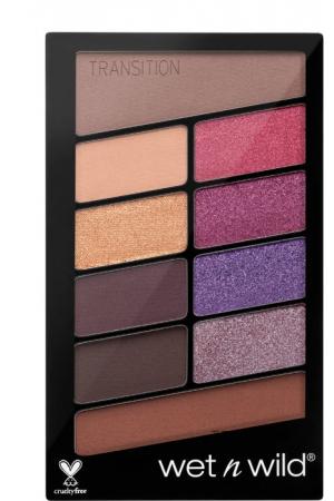 Wet N Wild Color Icon 10 Pan Eye Shadow V.I.Purple 761B 10gr