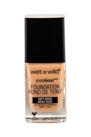 Wet N Wild Photo Focus Makeup 30ml Soft Beige