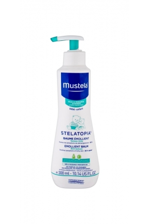 Mustela Bebe Stelatopia Emollient Balm Day Cream 300ml (Dry)
