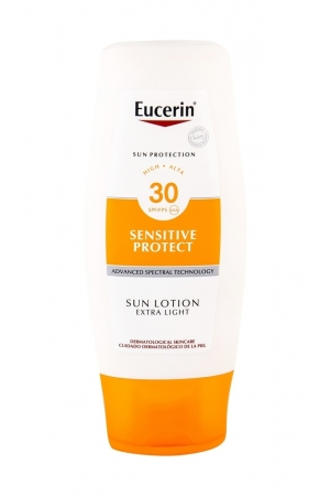 Eucerin Sun Sensitive Protect Sun Lotion Sun Body Lotion 150ml Waterproof Spf30