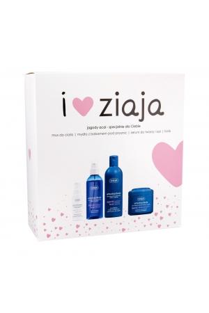 Ziaja Zia Berries Acai Shower Cream 300ml + Skin Serum 50ml + Skin Tonic 200ml + Moisturizing Body Foam 200ml