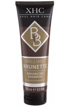 Xpel Brilliant Brunette Shampoo 250ml (Colored Hair)